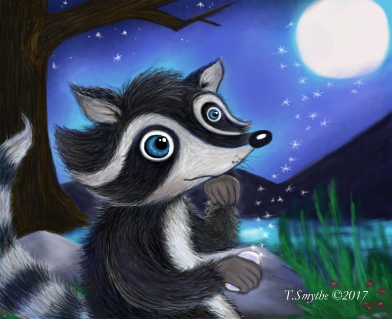 raccoonmagicstone